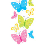Sandylion - Large Essentials - Handmade 3 Dimensional Stickers - Butterflies and Rhinestones, CLEARANCE