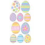 Sandylion - Sandylion Essentials - Handmade Stickers - Easter Eggs, CLEARANCE