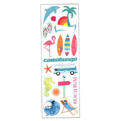 Sandylion - Rouge de Garance - Fleur de Taire Collection - Rub Ons - West Coast, CLEARANCE