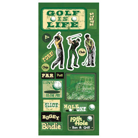 Sandylion - Sports Collection - Stickers - Golf Icon, CLEARANCE