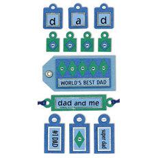 Sandylion - Large Essentials - Handmade Stickers - Tags Dad
