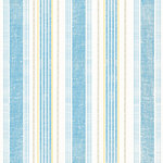 Sandylion - At The Coast Collection - 12x12 Paper - Nautical Stripes - Ocean - Swim - Beach, CLEARANCE