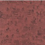 Sandylion Patterned Paper - Mickey Mouse Collection - Red Comic, CLEARANCE
