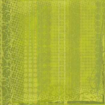 Sandylion - Kelly Panacci - Artsy Collection - 12x12 Paper - Bubble Green, CLEARANCE