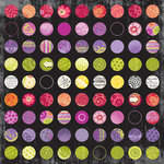 Sandylion - Artsy Collection by Kelly Panacci - 12x12 Paper - Dot Collage
