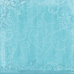 Sandylion - Kelly Panacci - Funtastik Collection - 12x12 Paper - Funtastik Turquoise