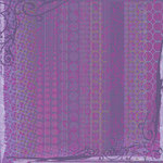 Sandylion - Artsy Collection by Kelly Panacci - 12x12 Paper - Purple Parade