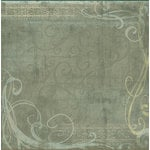 Sandylion - Kelly Panacci Collection - Christmas - 12x12 Paper - Graceful Green