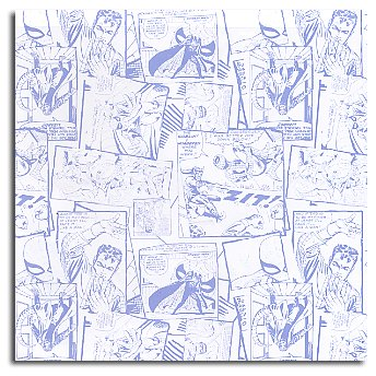 Sandylion Patterned Paper - Spiderman Comic, CLEARANCE