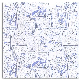 Sandylion Patterned Paper - Spiderman Comic, CLEARANCE