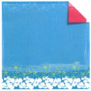 Sandylion - Rouge de Garance - Fleur de Taire Collection - 12x12 Doublesided Paper - Surf's Up, CLEARANCE