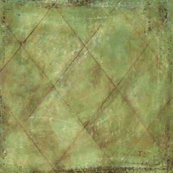 Sandylion Paper - Travel Collection - Green Harlequin