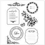 Sandylion - Rouge de Garance - Cupidon Collection - Clear Acrylic Stamps - Lasting Impressions, CLEARANCE