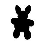 Scrapbook Customs - Wafer Thin Die - Bunny