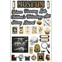 Scrapbook Customs - Museum Collection - Embellishments