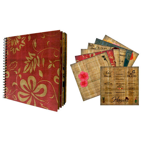 Scrapbook Customs - United States Collection - Hawaii - Spiral Book Kit