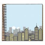 Scrapbook Customs - Superhero Collection - 6 x 6 Mini Book