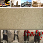 Scrapbook Customs - World Collection - Italy - 12 x 12 Paper