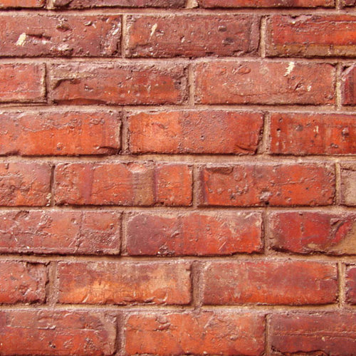 Scrapbook Customs - United States Collection - 12 x 12 Paper - Red Brick