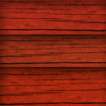 Scrapbook Customs - United States Collection - 12 x 12 Paper - Red Wood