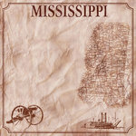 Scrapbook Customs - United States Collection - Mississippi - 12 x 12 Paper