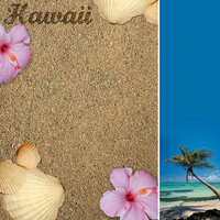 Scrapbook Customs - United States Collection - Hawaii - 12 x 12 Paper