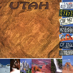 Scrapbook Customs - United States Collection - Utah - 12 x 12 Paper