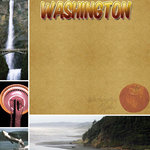Scrapbook Customs - United States Collection - Washington - 12 x 12 Paper