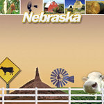 Scrapbook Customs - United States Collection - Nebraska - 12 x 12 Paper