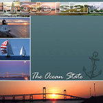 Scrapbook Customs - United States Collection - Rhode Island - 12 x 12 Paper