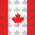 Scrapbook Customs - World Collection - Canada - 12 x 12 Paper - Companion