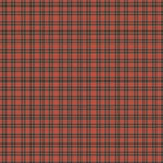 Scrapbook Customs - World Collection - 12 x 12 Paper - Red Plaid