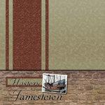Scrapbook Customs - United States Collection - Virginia - 12 x 12 Paper - Historic Jamestown