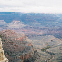 Scrapbook Customs - United States Collection - Arizona - 12 x 12 Paper - Grand Canyon