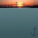 Scrapbook Customs - United States Collection - Rhode Island - 12 x 12 Paper - Companion