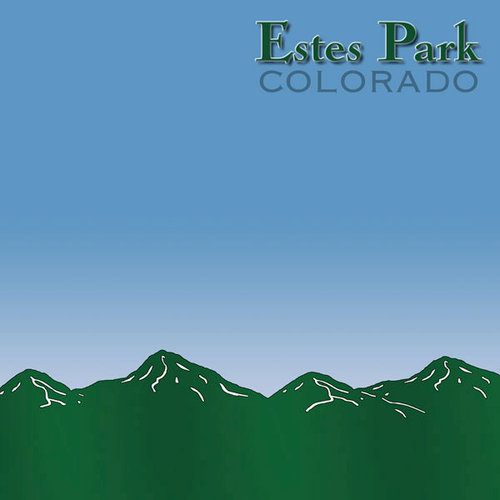 Scrapbook Customs - United States Collection - Colorado - 12 x 12 Paper - Estes Park