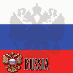 Scrapbook Customs - World Collection - Russia - 12 x 12 Paper