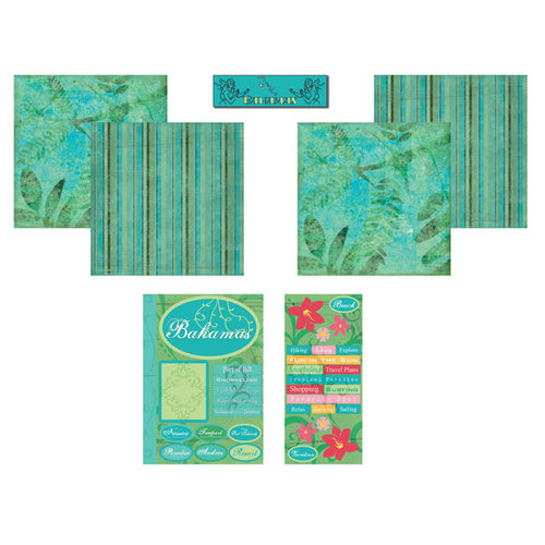 Scrapbook Customs - Tropical Kit - Bahamas