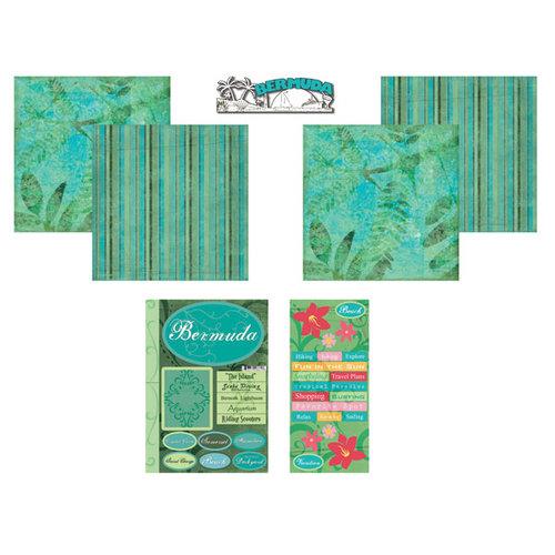 Scrapbook Customs - Tropical Kit - Bermuda