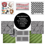 Scrapbook Customs - Sports Collection - 12 x 12 Paper Kit - Baseball