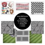 Scrapbook Customs - Sports Collection - 12 x 12 Paper Kit - Baseball