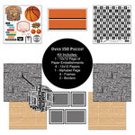 Scrapbook Customs - Sports Collection - 12 x 12 Paper Kit - Basketball