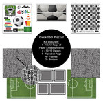 Scrapbook Customs - Sports Collection - 12 x 12 Paper Kit - Soccer