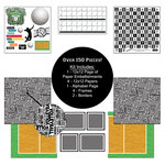 Scrapbook Customs - Sports Collection - 12 x 12 Paper Kit - Volleyball