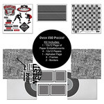 Scrapbook Customs - Sports Collection - 12 x 12 Paper Kit - Wrestling