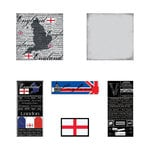 Scrapbook Customs - Complete Kit - England