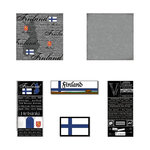 Scrapbook Customs - Complete Kit - Finland