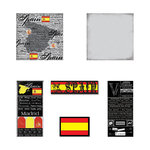 Scrapbook Customs - Complete Kit - Spain