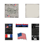 Scrapbook Customs - Complete Kit - USA
