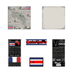 Scrapbook Customs - Complete Kit - Costa Rica